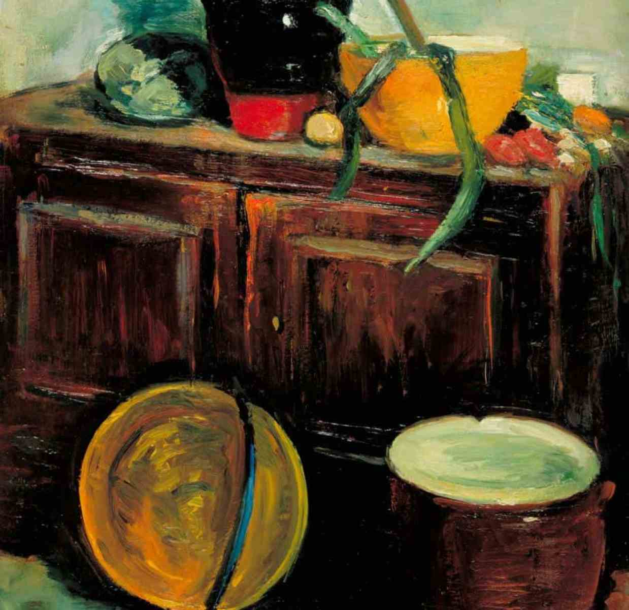 Kitchen Utensils c.1914-8 Leslie Hunter 1877-1931