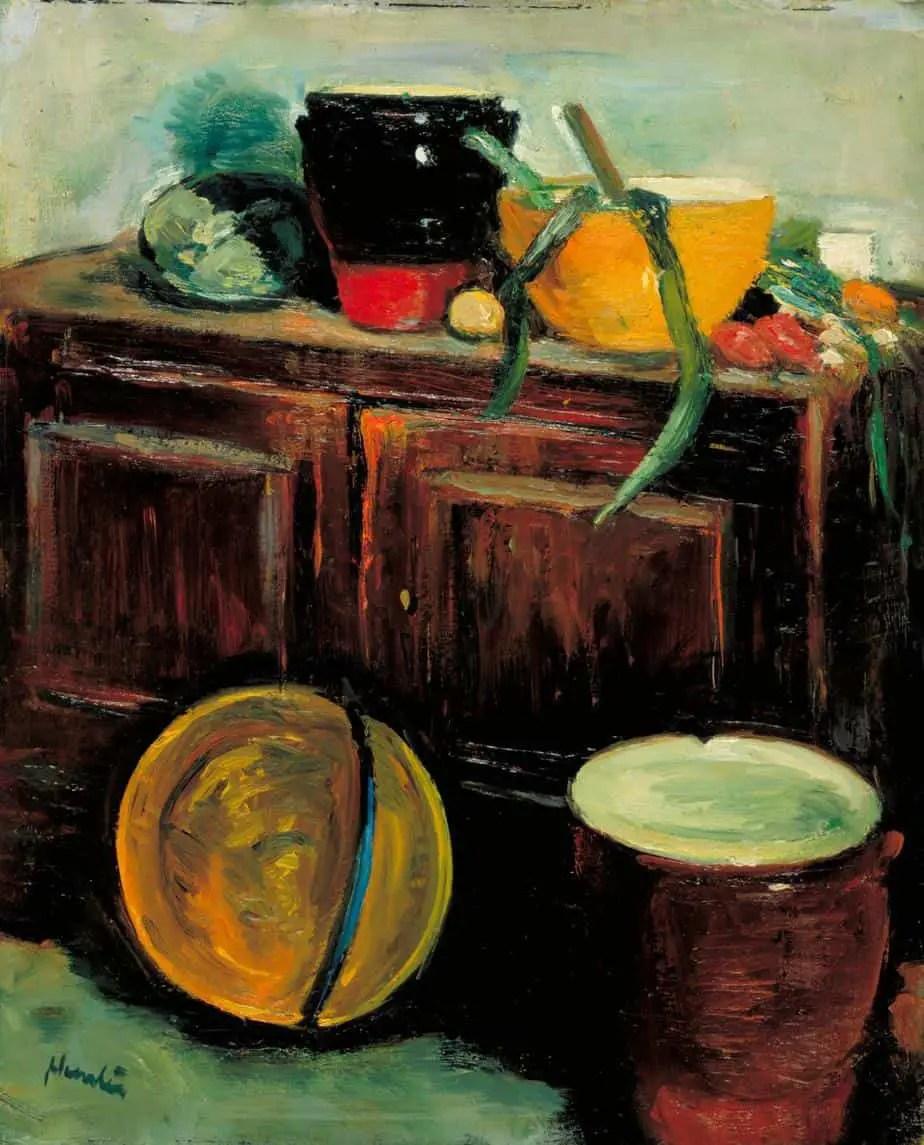 Kitchen Utensils c.1914-8 Leslie Hunter 1877-1931
