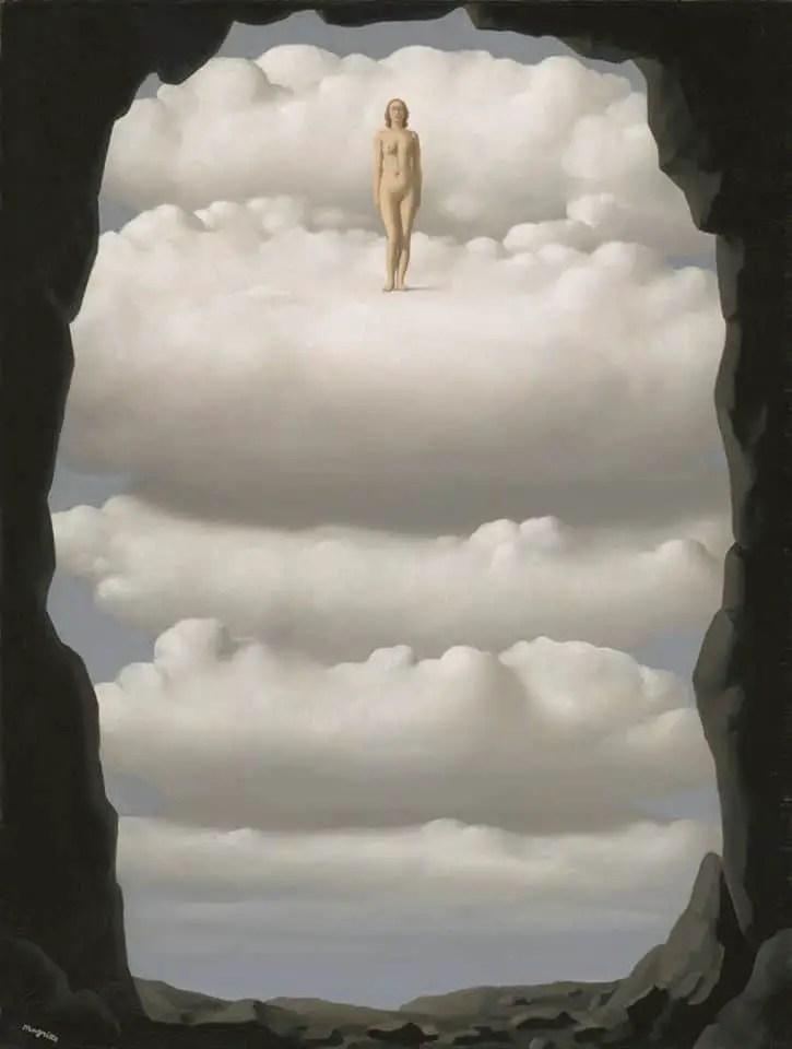 René Magritte (Belgian, 1898-1967), daily bread, oil on canvas, 91.6 x 69.8 cm