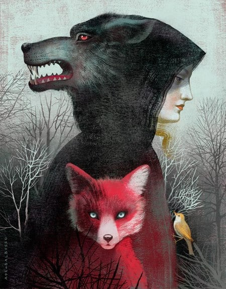 Anna & Elena Balbusso, Cover art for 'The Too Clever Fox' by Leigh Bardugo
