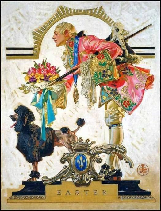 Easter illustration by J.C. Lyendecker