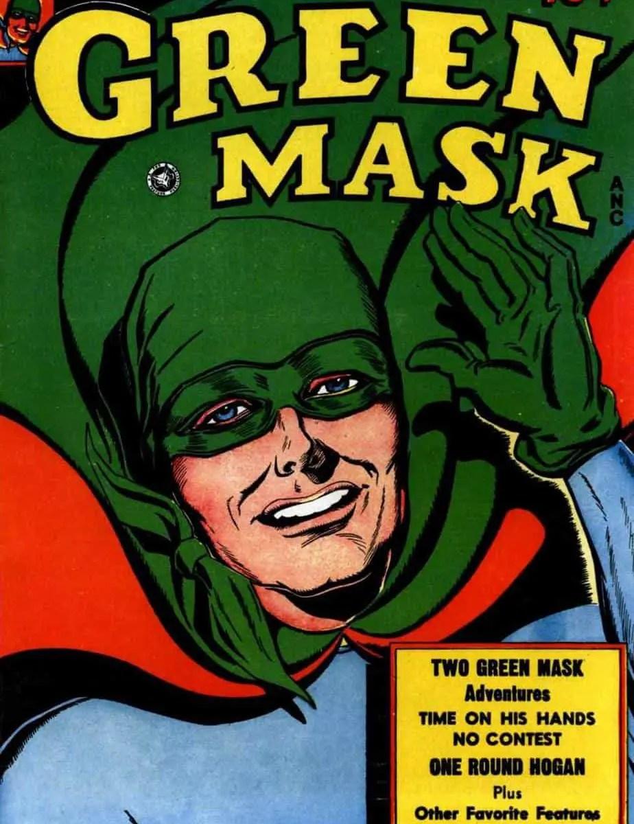 Elmer Cecil Stoner Green Mask