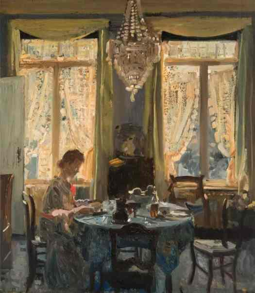 Jacques Maes (Belgian,1905 - 1964) Breakfast