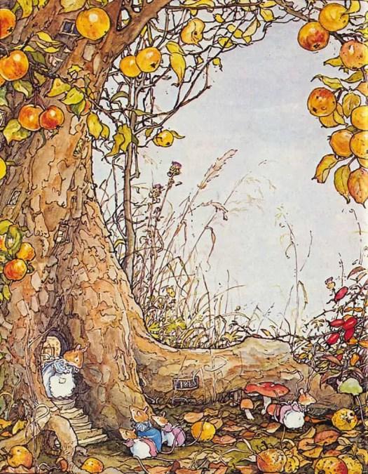 from Brambly Hedge by Jill Barklem