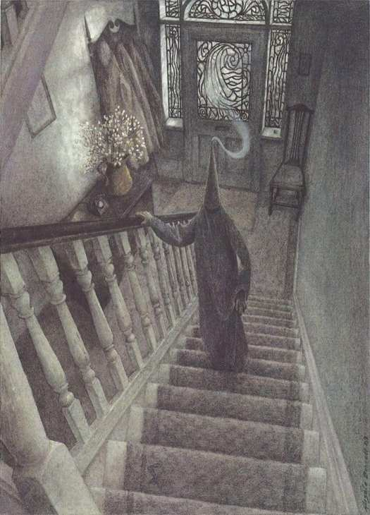 Angela Barrett, from the Walker Book of Ghost Stories