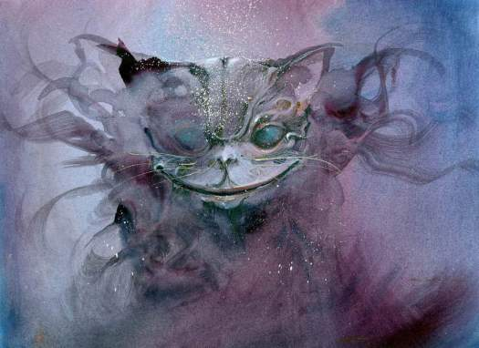 Anne Bachelier's Cheshire cat