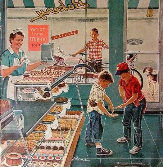 Bakery illustration by Ben Kimberly Prins