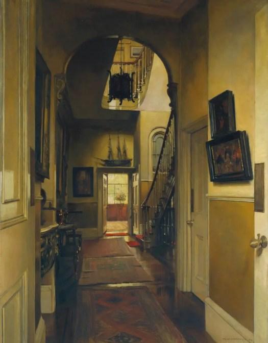 Frank L. Emanuel Kensington Interior 1912