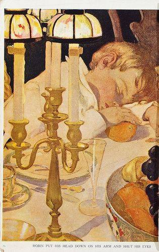 Jessie Willcox Smith, from The Now-A-Days Fairy Book (1922) lighting