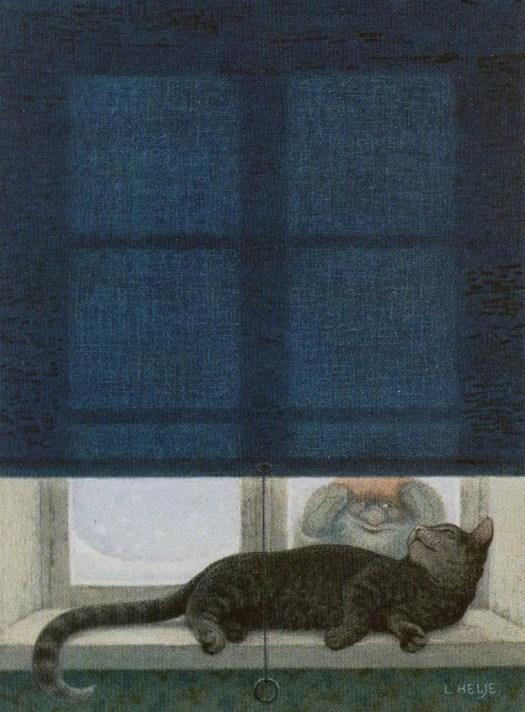 Lennart Helje (Swedish, b.1940) from The Tomten