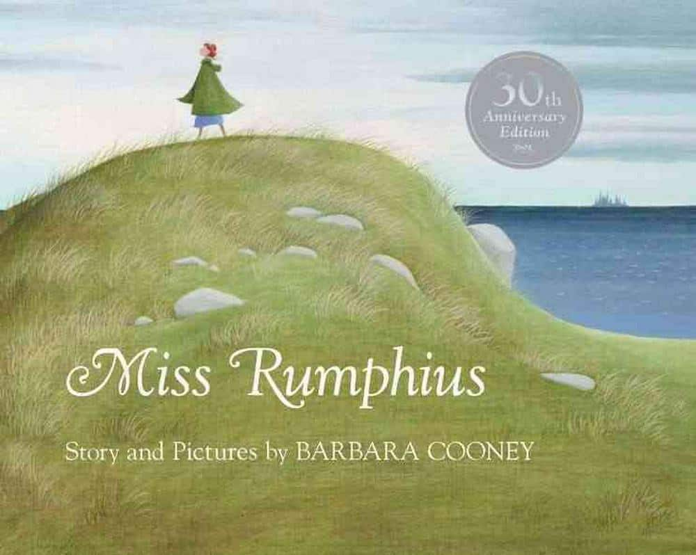 Miss Rumphius 30th anniversary edition cover