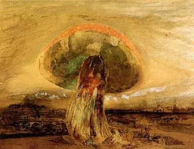 Mushroom by Victor Hugo 1850