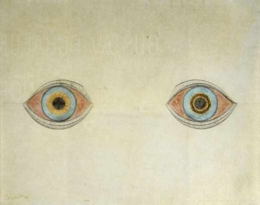My Eyes in the Time of Apparition by August Natterer 1913