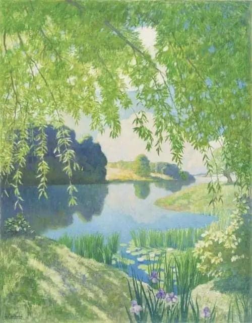 Newell Convers Wyeth (1882-1945) River of Sleep, 1938