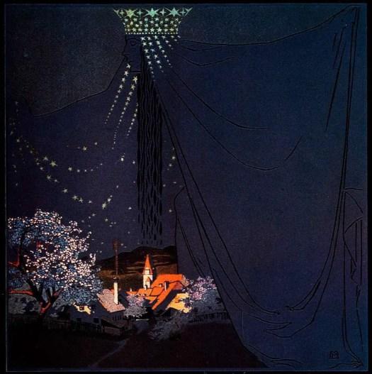 Queen of the Night,  Mila von Luttich (Austria, 1872-1929)
