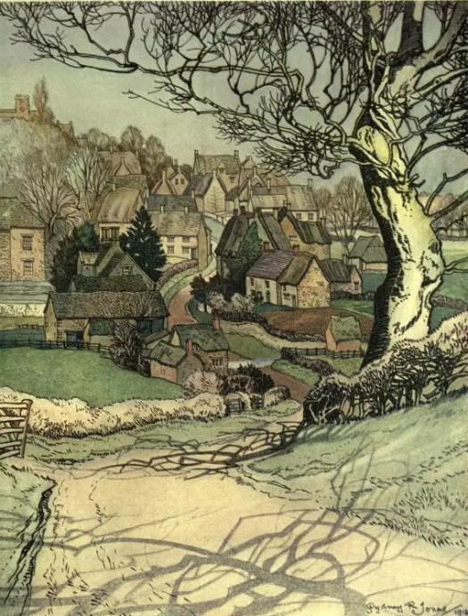 Sydney R. Jones, The Village Homes of England, 1912