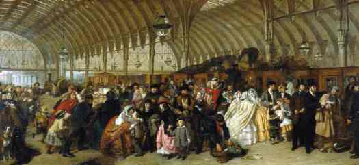 William Powell Frith - The Railway Station