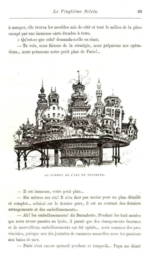 Albert Robida (1848-1926), Le Vingtième siècle aka The Twentieth Century, 1883