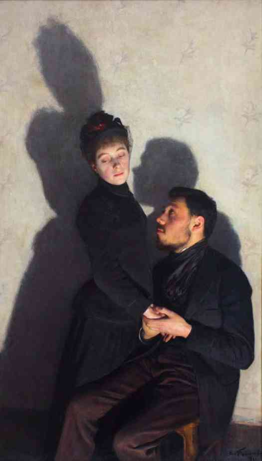 Émile Friant - Cast Shadows 1891