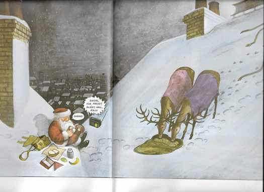 Father Christmas by Raymond Briggs 1978