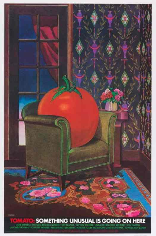Milton Glaser Tomato Something Unusual Is Going On Here