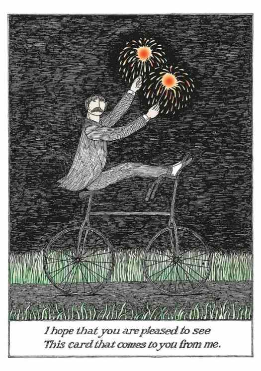 Edward Gorey I hope you are pleased to see this card