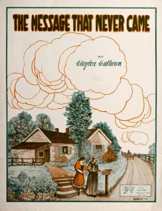 The Message That Never Came 1918 Written by Clayton Calhoun Art by Albert Barbelle