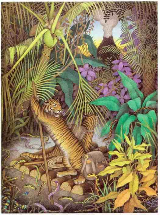 The Tyger Voyage illustrated by Nicola Bailey 1976