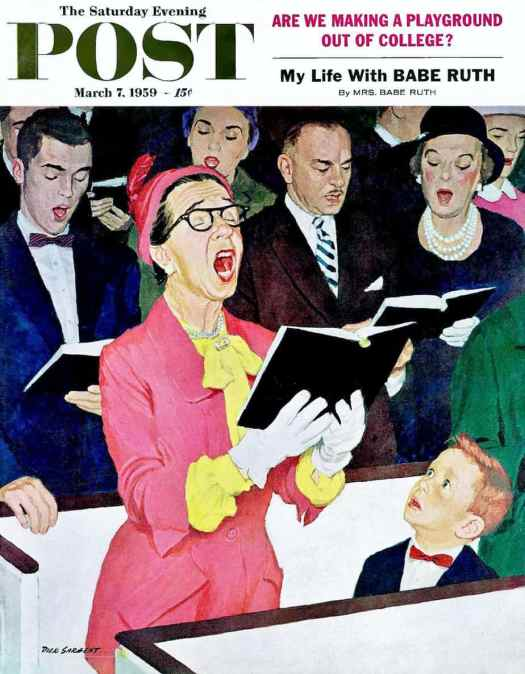 1959 cover by Dick Sargent