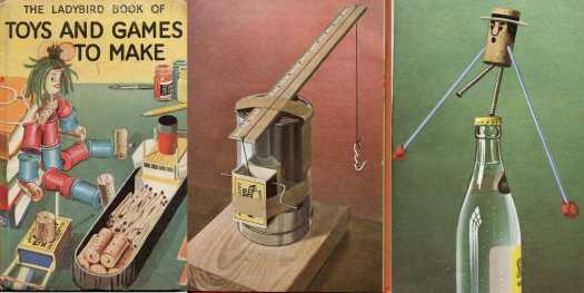 Ayton, Robert, The Ladybird Book of TOYS AND GAMES TO MAKE by James Webster, 1966