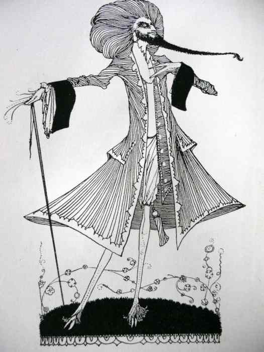 Harry Clarke illustration for 'The Fairy Tales of Charles Perrault', first published  in this format in 1922, by George Harrap, London
