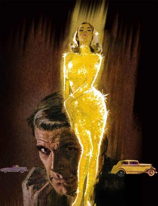 James Bond in Saga Magazine. Cover of Saga Magazine from July 1964 featuring a story about Goldfinger. Art by Barye Phillips