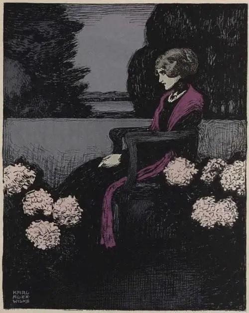 Karl-Alexander Wilke (1879-1954), illustration for The Muskete