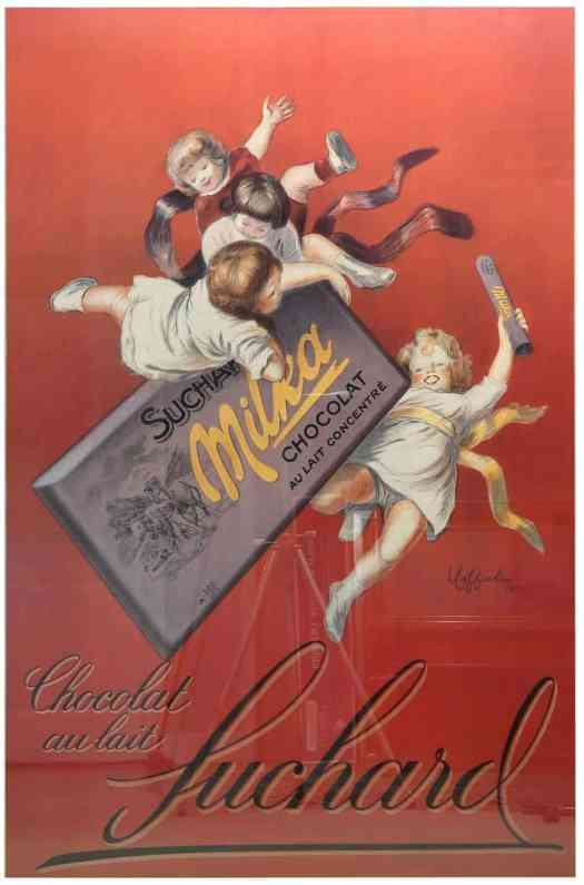 Leonetto Cappiello (FRENCH, 1875-1942) Chocolate Poster