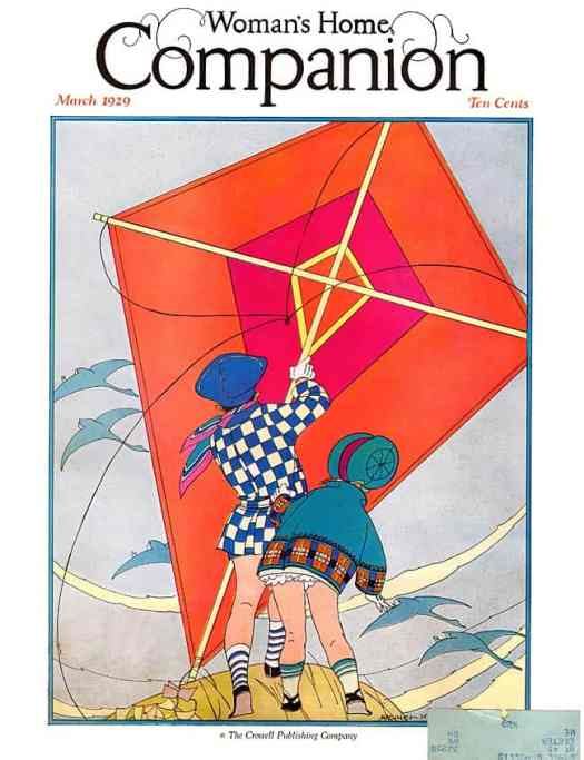 Maginel Wright Enright Barney (American, 1881-1966) kite