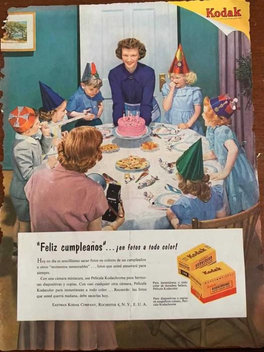 Spanish Life Magazine Kodak