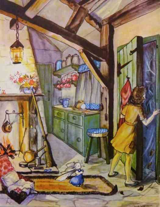 by Ivy L Wallace for Pookie puts the World Right (1947) ceiling