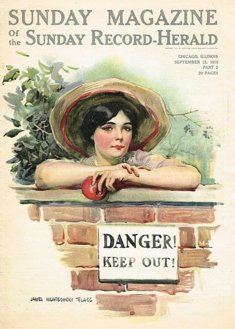 Art by James Montgomery Flagg 1912
