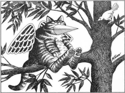 B. B. Kliban (Bernard Kliban 1935-1990) Cats mask