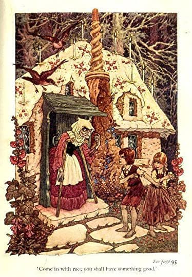 Charles James Folkard (6 April 1878 – 26 February 1963) hansel and gretel gingerbread house