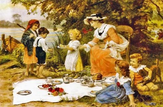 Frederick Morgan - Charity picnic