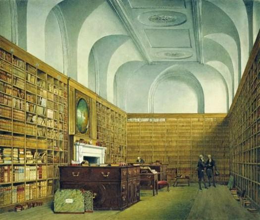 James Stephanoff - Buckingham House, East Library