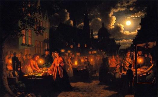 Johann Mongles Culverhouse - Moonlit Market