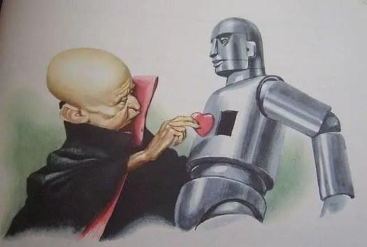 Libico Maraja robot heart