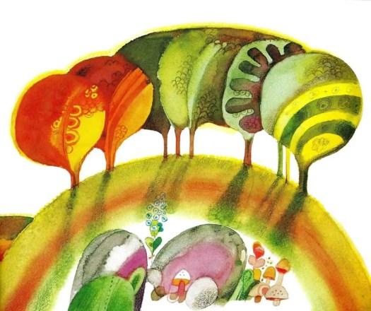 THE PEAR TREE (1973) Ivan Gantschev trees