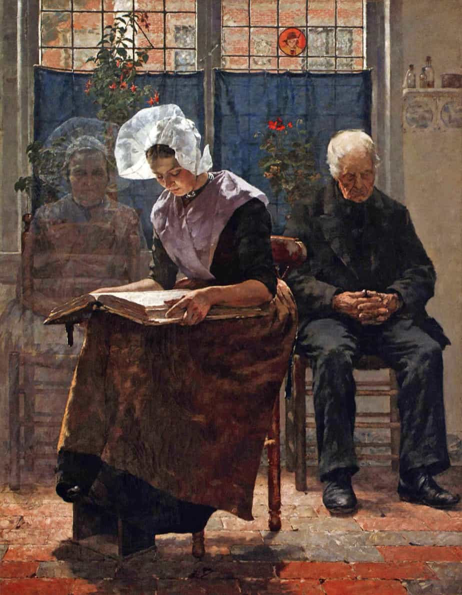 Walter MacEwen - The Absent One on All Souls' Day ghost