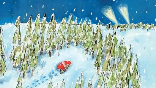 Rokuro Taniuchi, illus. from Winds and Wildcat Places by Kenji Miyazawa