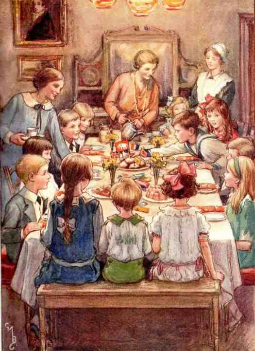 Cicely Mary Barker (1895 - 1973) the party