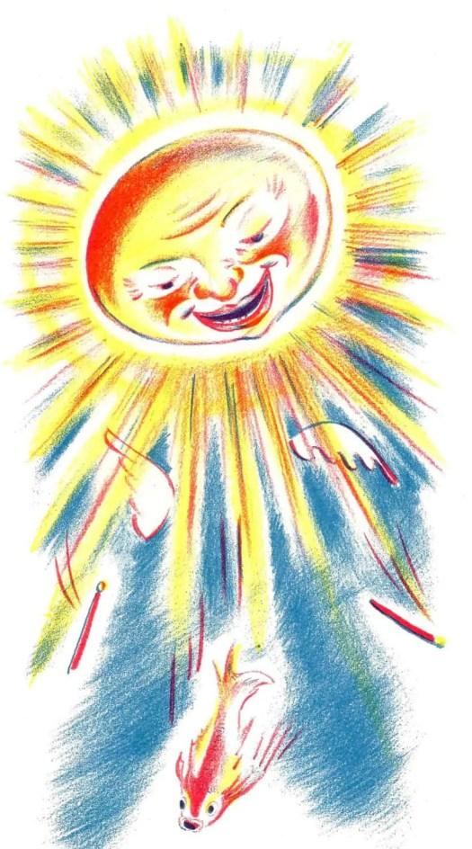 DE VOGELVIS (1948) Piet Worm sun