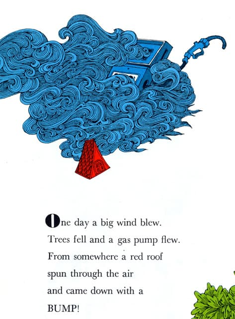 Ellen Raskin, Moose, Goose and Little Nobody, 1974 wind